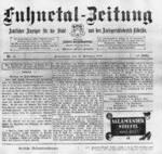 Fuhnetalzeitung 1888