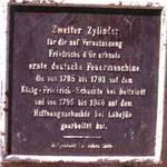Dampfzylinder Tafel