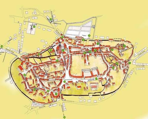 Karte Stadtrundgang
